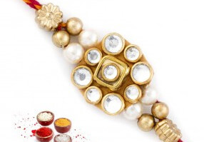 Jewelled Rakhi to India