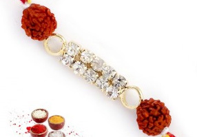 Rudraksha Rakhi to India